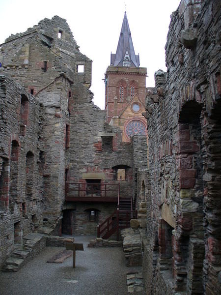 The Bishop's Palace at Kirkwall