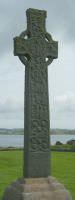 The 8th century St Martin's Cross on Iona
