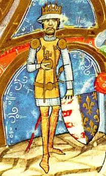 Charles I of Hungary - Chronicon pictum, Marci de Kalt, Chronica de gestis Hungarorum (Képes Krónika), Széchényi Nationalbibliothek, Budapest