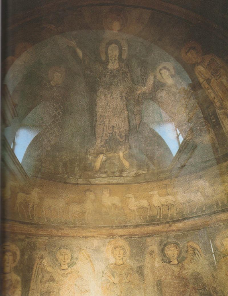 10th century fresco in the church of San Sebastiano al Palatino. (Wikipedia)