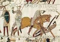 Death of Harold Godwinson in the Battle of Hastings