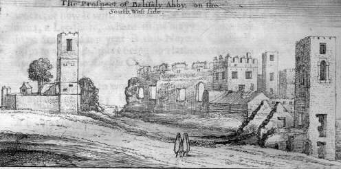 Rushen Abbey from 1656