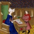 "By the time Christine began the Cité des dames which she completed in 1405 she stated firmly that it had become the ""habit of my life"" to study literature (in which she included history) and as usual she was sitting in her cell. But how did this become such a habit?"