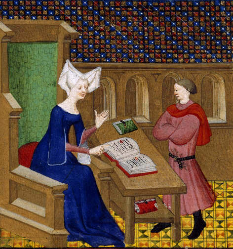 Christine_de_Pisan_and_her_son