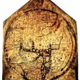 This paper relies on new masonry and dendrochronological evidence and the system of medieval ecclesiastical preferments to argue that this monumental world map was originally exhibited in 1287 next to the first shrine of St Thomas Cantilupe in Hereford Cathedral's north transept.