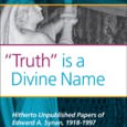 """Truth"" is a Divine Name: Hitherto Unpublished Papers of Edward A. Synan, 1918-1997 Edited by Janice L. Schultz-Aldrich Rodopi, 2010 ISBN: 978-90-420-3154-8 This volume contains essays on an array of […]"