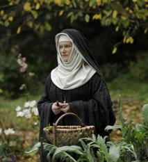 Barbara Sukowa as Hildegard von Bingen in Vision