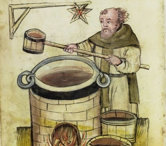 Image of brewing from 1506