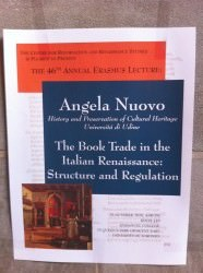The Book Trade in the Italian Renaissance: Structure and Regulation