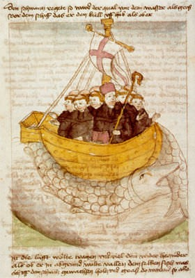 St. Brendan and his miraculous food: heavenly meals for a legendary voyage