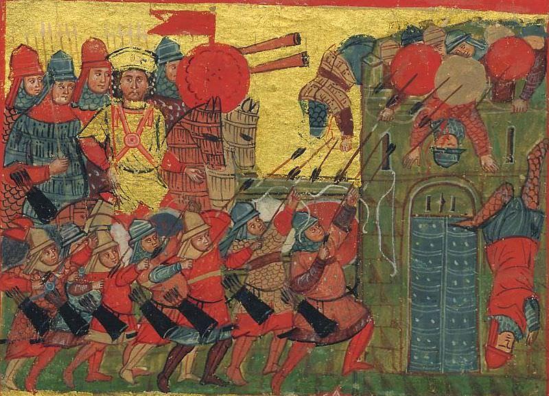Arab-Byzantine War, 629-644 AD