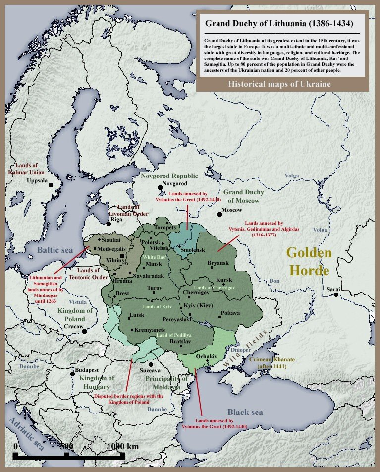 The Grand Duchy of Lithuania in the Retrospective of Comparative Historical Sociology of Empire
