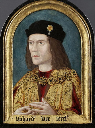 Richard III  - earliest surviving portrait