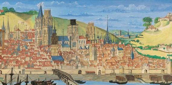 Rouen in the 16th century