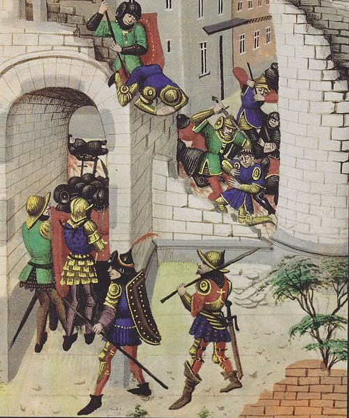 15th century depiction of the massacre in Jerusalem