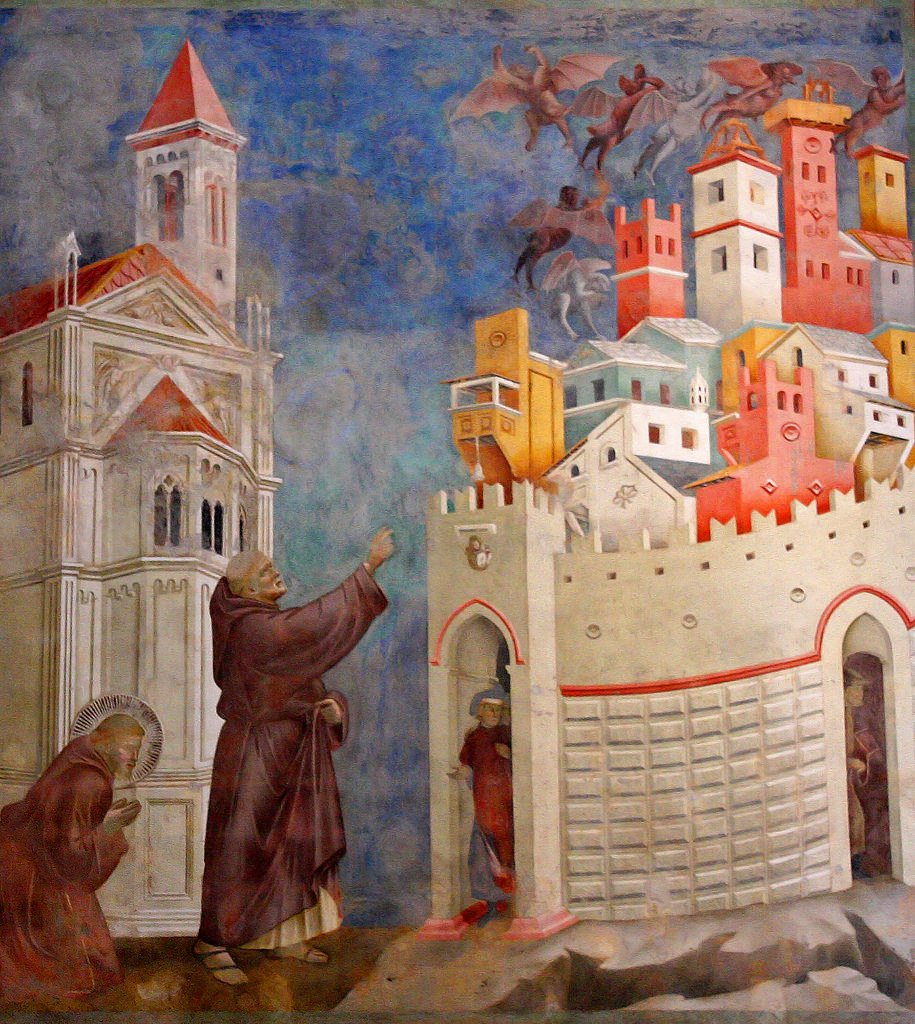 The Three-Dimensionalisation of Giotto's 13th-century Assisi Fresco: Exorcism of the Demons at Arezzo