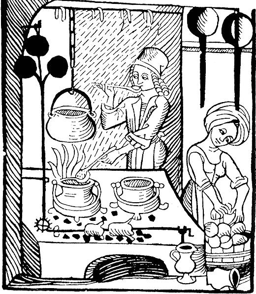 cooking medieval food