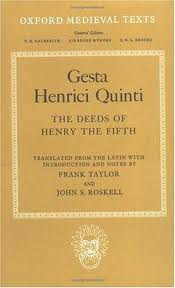 Representation in the Gesta Henrici Quinti