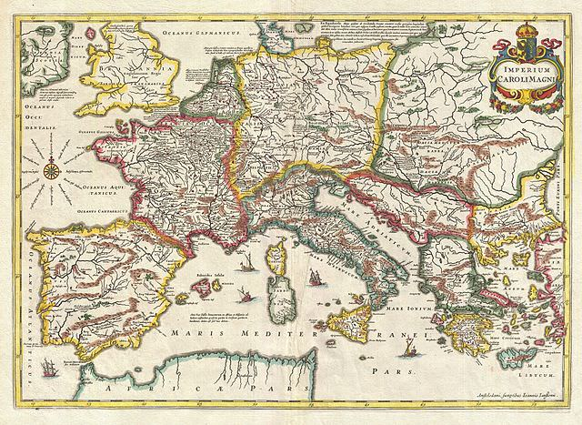 map of 9th century Europe   Medievalists.net