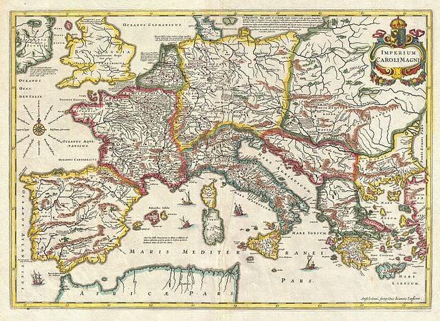 map of 9th century europe map of 9th century Europe   Medievalists.net