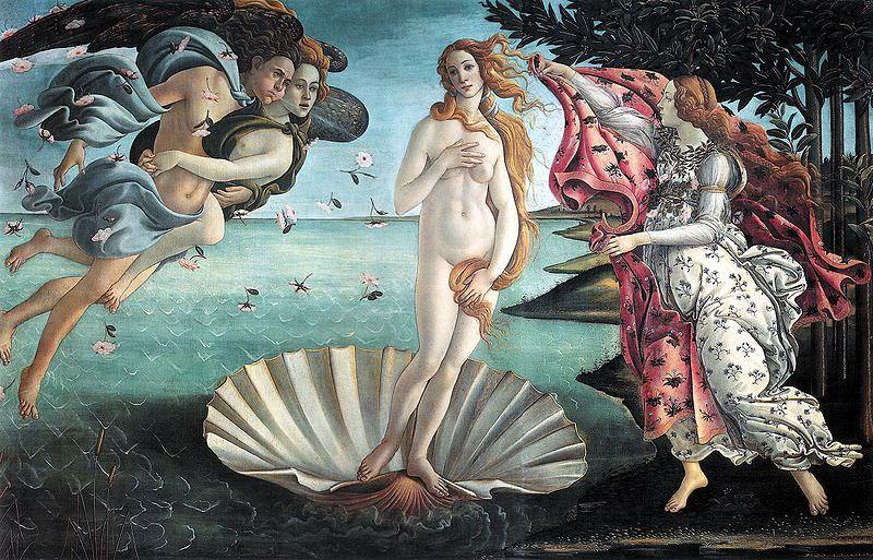 Botticelli - Birth of Venus