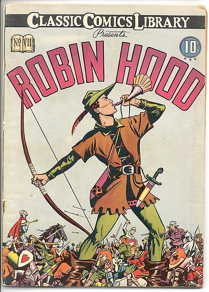 Comic  book robin hood