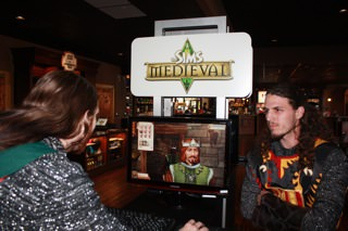 Sims Medieval unveiling at Medieval Times