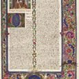Cambridge Illuminations Panayotova, Stella Marginalia, Vol. 3 (2006) Abstract The Cambridge Illuminations (July-December 2005) has been judged to be not only the largest exhibition of illuminated manuscripts in a century […]