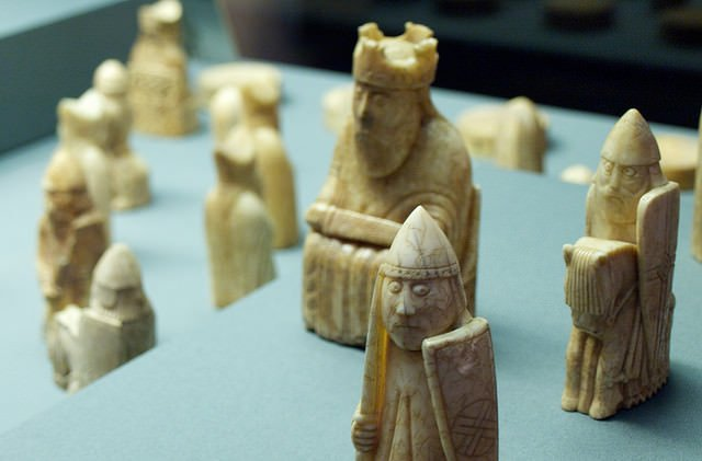 lewis chessmen - photo by Stephen Coles / Flickr