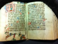 14th century psalter - part of the University of Pennsylvania Libraries current collection