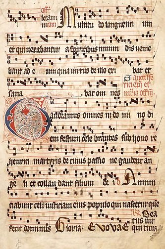 Gregorian Chant, the Greatest Unison Music