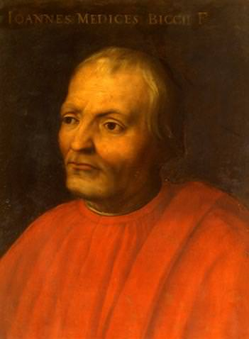 Giovanni de' Medici, founder of the Medici bank.