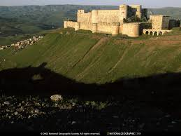 The role of castles in the political and military history of the Crusader States and the Levant 1187 to 1380