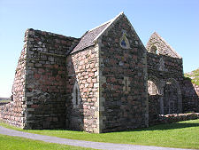 Excavation of an early church and a women's cemetery at St Ronan's medieval parish church, Iona