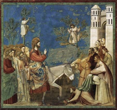 Giotto - Entry into Jerusalem