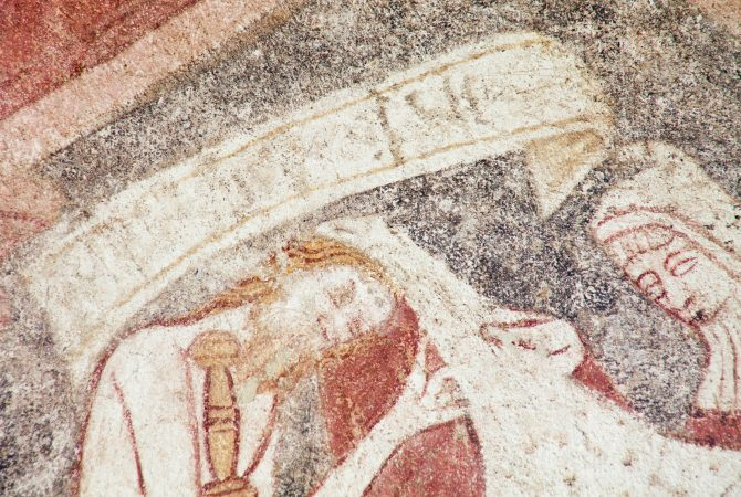 Church wallpainting - image courtesy Churches Conservation Trust