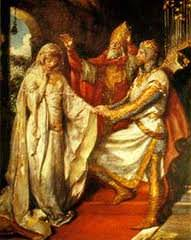 Guinevere's marriage to Arthur