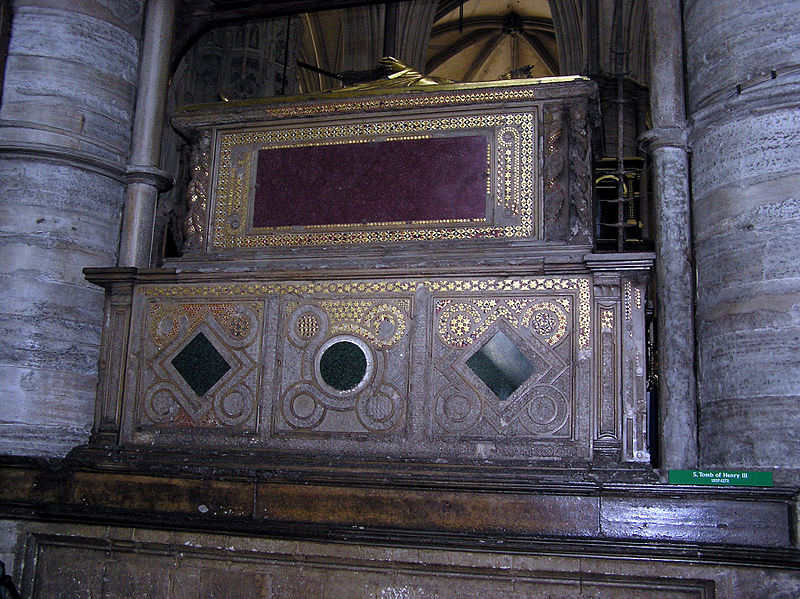 Westminster abbey - tomb of henry III