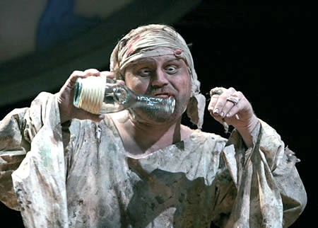 an overview of the calibans response to trinculo and stephano in the tempest a play by william shake The tempest william table of contents all subjects play summary about the tempest caliban, trinculo, and stefano with a run through a briar.