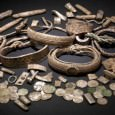 Now known as the Silverdale Viking Hoard, the collection cotnains  a total of 201 silver objects and a well preserved lead container. Of particular interest is the fact that the hoard contains a previously unrecorded coin type, probably carrying the name of an otherwise unknown Viking ruler in northern England.
