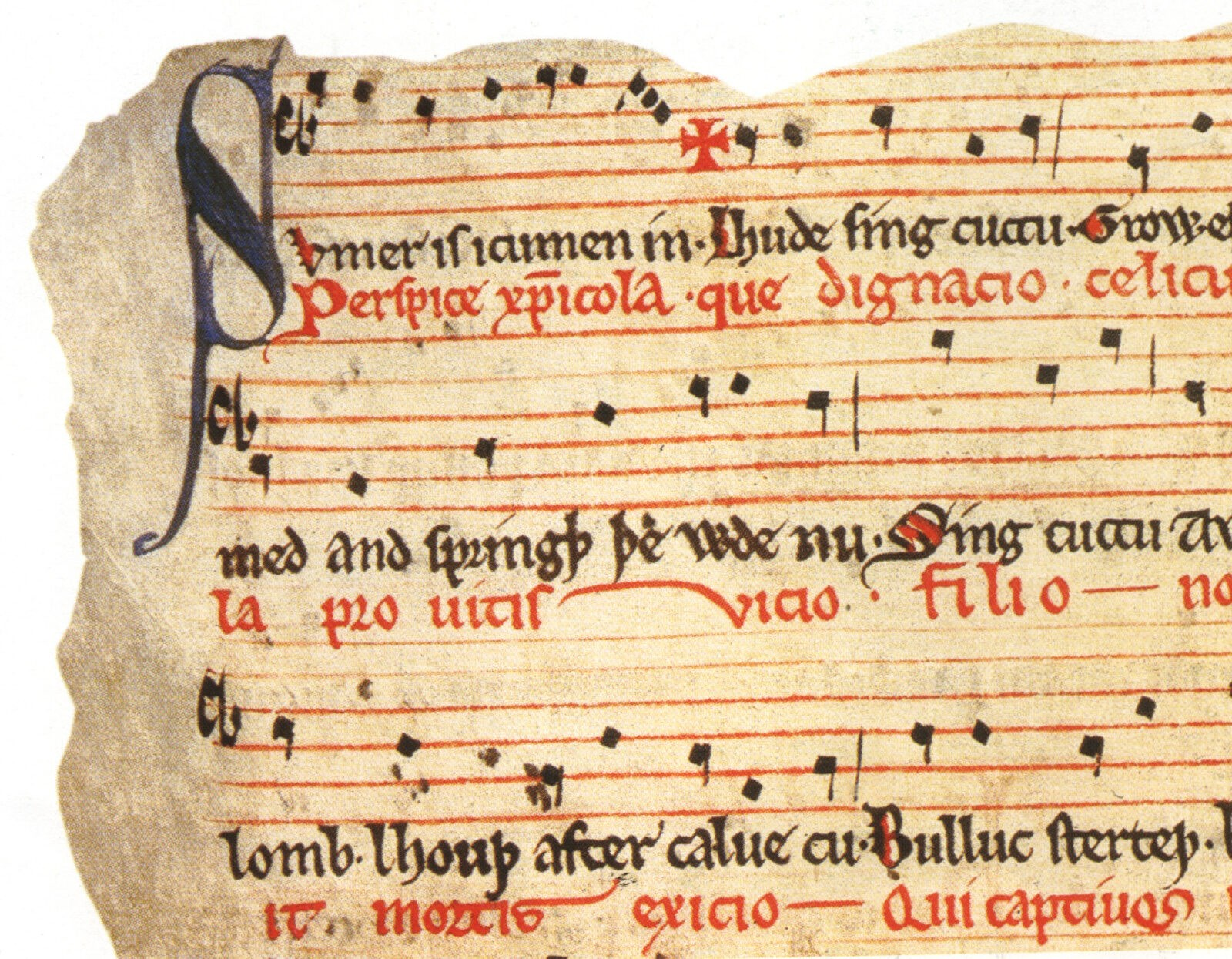 Medieval musical notes