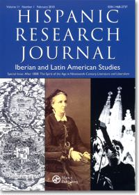 The Inquisition featured on a special issue of Hispanic Research Journal