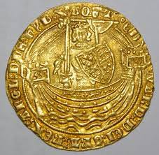 Gold Noble coin - Edward III