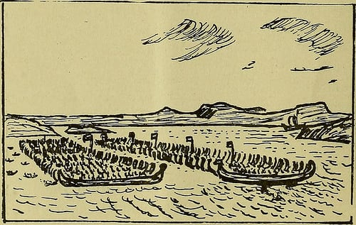 Image from Memorial essay on some phases of the maritime life of France and England directly traceable to the Vikings (1912)