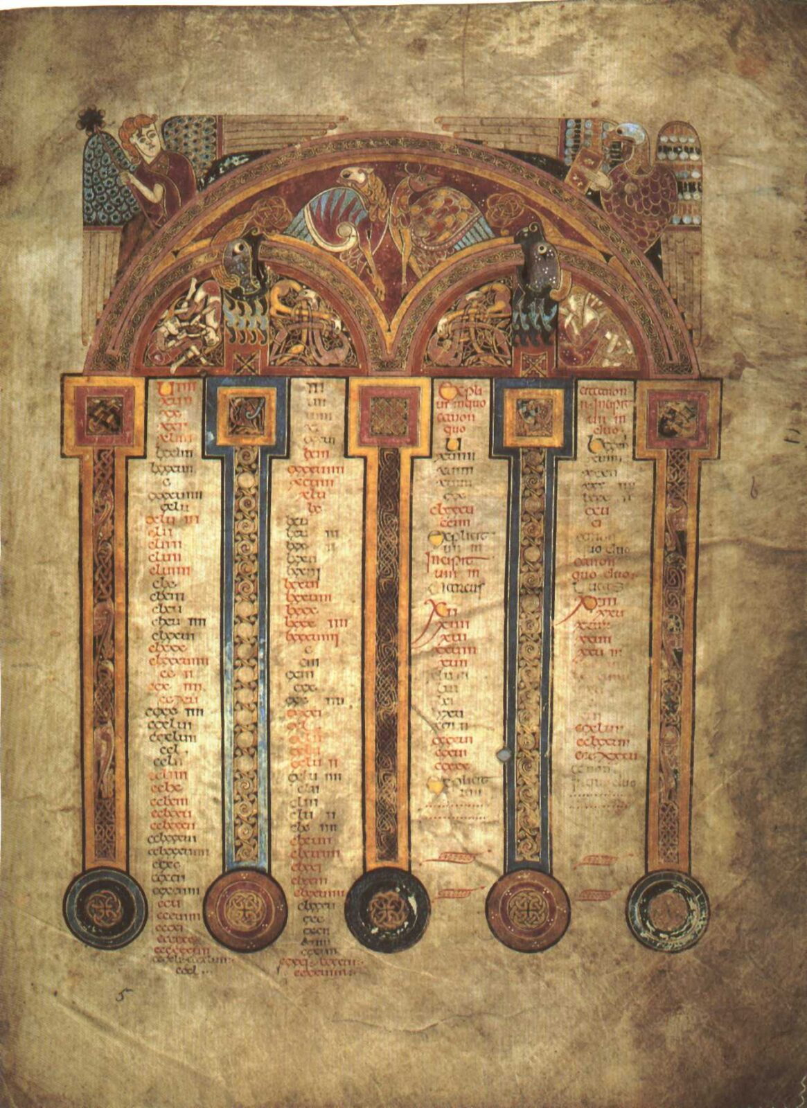 Trinity College Library Book of Kells Library of Trinity College