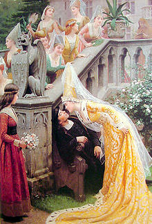 Leighton-Alain_Chartier-1903 (Courtly Love)