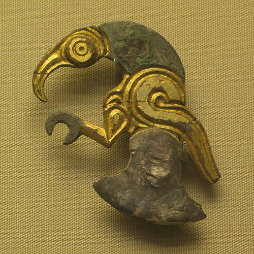 Anglo Saxon animal ornament