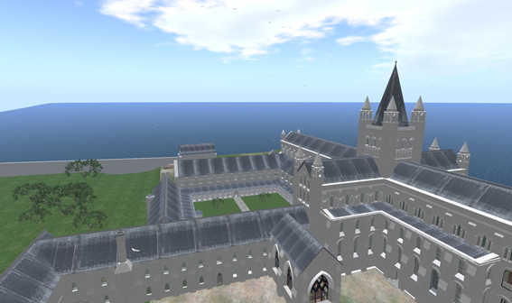 Virtual St Andrews Cathedral - photo courtesy University of St Andrews