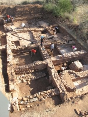 The place of discovery is a Roman villa near Silves. Photo: Dennis Graen/FSU