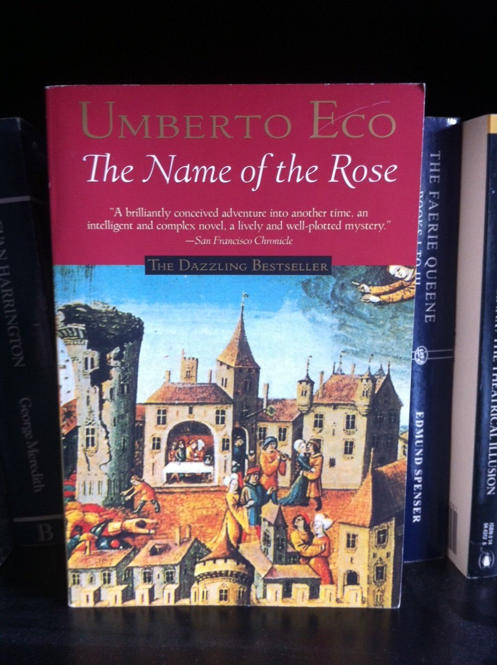 On the surface, this book was an unlikely candidate to become an international bestseller - a book by an Italian professor, it has long digressions into medieval theology and references to a work by Aristotle.